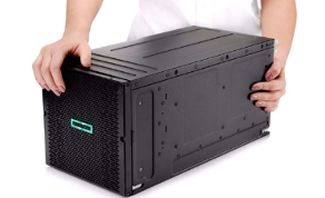 compute in a carry-on container hpe
