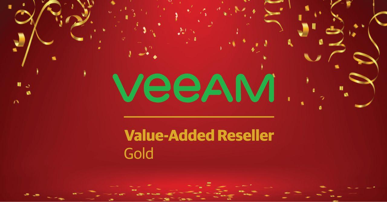 Veeam Gold Level Partner